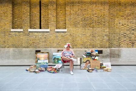 Duane Hanson, 'Flea Market Lady', 1990-1994