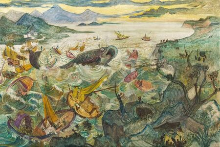 Oskar Laske, 'Leviathan', 1926/1927