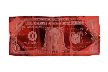 Karl Lagasse, 'One Dollar - Red - Small Size', 2020