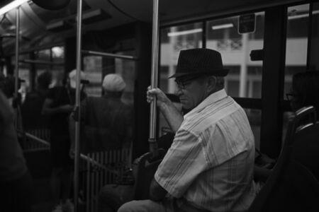 Andrew Tshabangu, 'Inside the Bus to St Denis Center, Le Grand Chemin, St Denis, Reunion Island Series', 2018