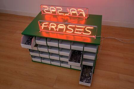 Carlos Garaicoa, 'Frases falsas/ False phrases', 2020