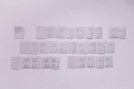 Yona Friedman, 'Slideshow (Improvisation in Architect, Build Less, Critical Groupsize, Improvise, Architecture Without Building)', 2019