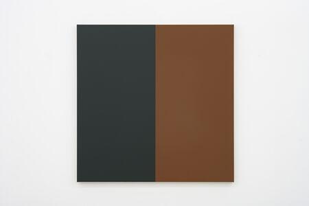 Steven Aalders, 'Two Halves (Green, Brown)', 2019