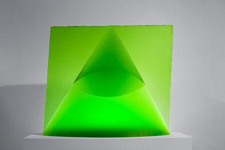 Jaroslava Brychtova and Stanislav Libensky, 'Green Eye of the Pyramid', 1993