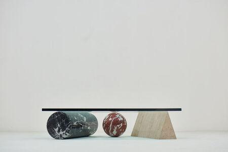 """Lella Vignelli, '1985 Coffee table """" Metaphora 3 """" by Massimo & Lella Vignelli for Casigliani', 1985"""