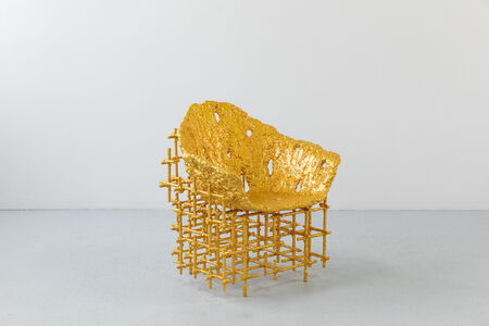 Chris Schanck, 'Shell Chair: Red Gold', 2019