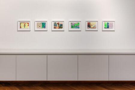 Hayley Tompkins, 'Installation view II'