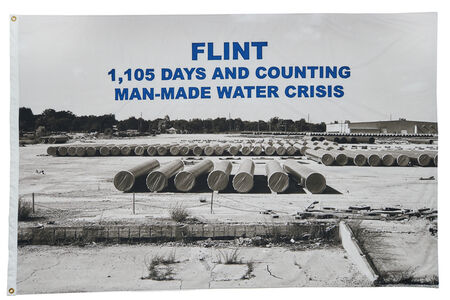 LaToya Ruby Frazier, 'FLINT, 1,105 days and counting man-made water crisis, 2017', 2017