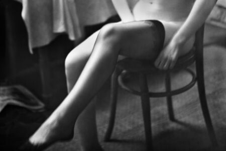 René Groebli, 'The Eye of Love, Stockings, Paris (no. 531)', 1952