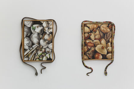 Stephanie Temma Hier, 'It's paradise enough for me; Only birds fight at the beach (diptych)', 2020