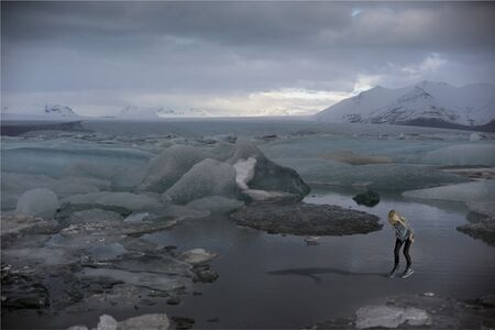 Gail LeBoff, 'Glacier Girl (#5163)', 2015