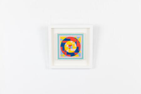 Onosato Toshinobu, 'Stacked Square & Circle ', 1978