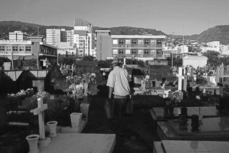 Andrew Tshabangu, 'Graveyard Cleaner, Le Grand Chemin, St Denis, Reunion Island Series', 2018