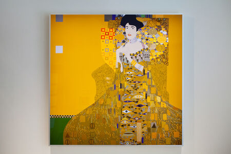 Kota Ezawa, 'Adele Bloch-Bauer I (by Gustav Klimt)', 2016