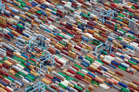 Alex Maclean, 'SHIPPING CONTAINERS, PORTSMOUTH, VIRGINIA, USA, 2011', 2011
