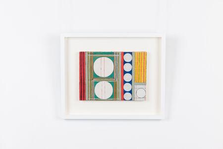 Onosato Toshinobu, 'Big & Small White Circles ', 1955