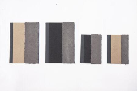 Marcelo Cidade, 'Pessoal e intransferível (borda cinza) / série nóia (polyptych) 4', 2014