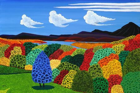 Jack Stuppin, 'Hudson River View from Olana', 2012