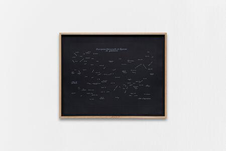 Guillaume Constantin, 'DU ROYAUME DE GALANTERIE', 2019
