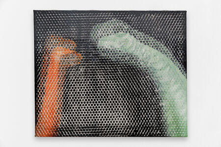 Michael Van den Abeele, 'Dinosaur painting #15, 2017 Oil on canvas 50 × 60 cm', 2017