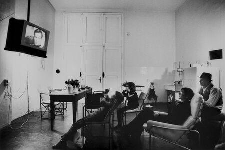 Michael Ruetz, 'The Joseph Beuys family watches Star Trek, Düsseldorf Oberkassel, 11 November 1972', 1972