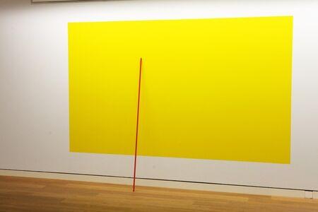 Lutz Fritsch, 'In Anlehnung an Gelb IV', 2016