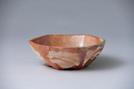 Ken Matsuzaki, 'Bowl, yohen shino glaze', 2020