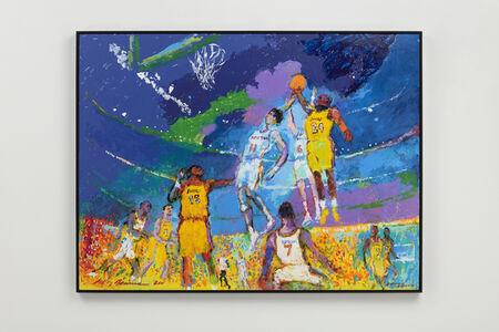 LeRoy Neiman, 'Knicks vs Lakers', 2011