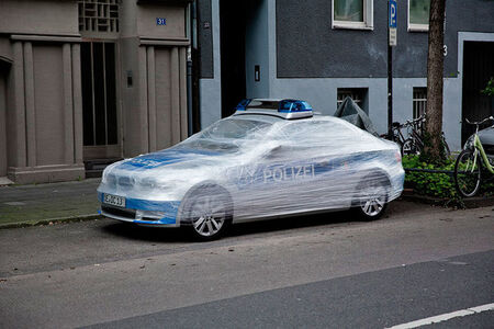 """SpY, '""""Wrap"""" Cologne.', 2013"""