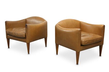 Illum Wikkelsø, 'A pair of 1960s Danish armchairs'