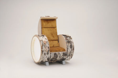 Carlo Sampietro, 'Cloche Harm Chair birch model', 2015