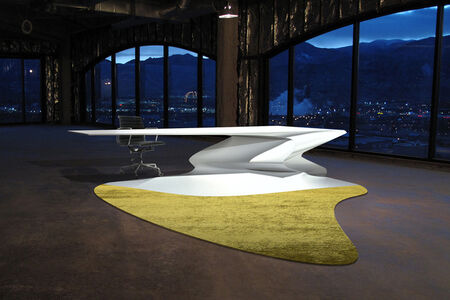 Philip Michael Wolfson, 'Liquid Desk with Shadow Carpet', 2011
