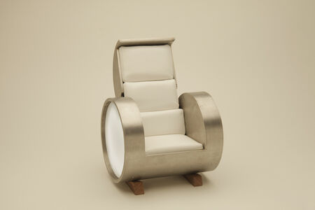 Carlo Sampietro, 'Cloche Sofa stainles steel 3 opening model', 2013