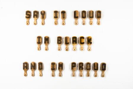 Felandus Thames, 'Say it Loud I'm Black and I'm Proud', 2020