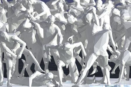 Miao Xiaochun 缪晓春, 'Ice Man', 2011