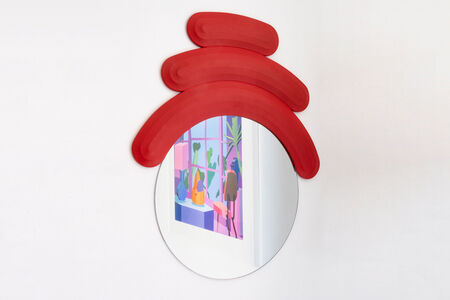 Josh Sperling, 'FRIEND MIRROR (RED)', 2019