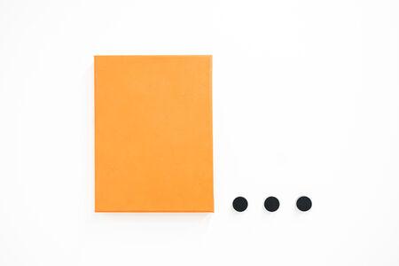 Horacio Zabala, 'Monocromo naranja con puntos suspensivos', 2016