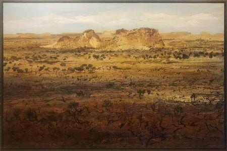 Peter McQueeney, 'Ochre Lands Australian Outback', 2019