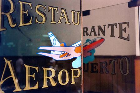 """Facundo de Zuviría, 'From the series """"Estampas porteñas"""", """"Restaurant Airport, Microcenter""""', 1986"""