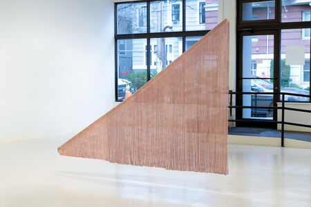 Ko Kirk Yamahira, 'Untitled RL028 (Suspended Pink Triangle)', 2019