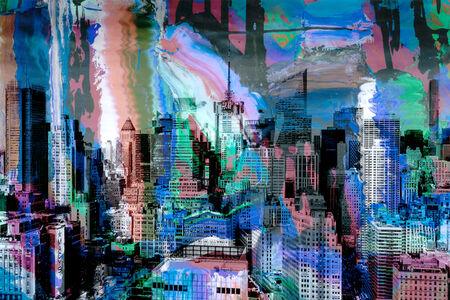 Frederick Hodder, 'Midtown Composite', 2015