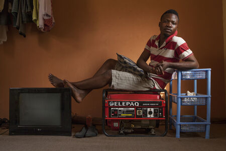 Andrew Esiebo, 'Untitled (Who We Are Series)', 2010