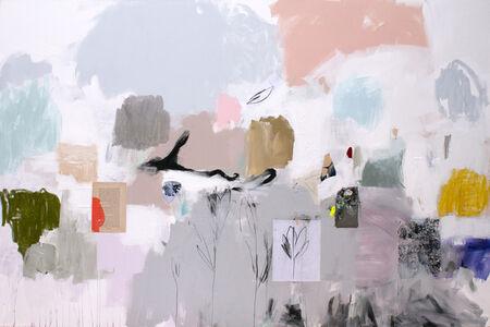 Emily Filler, 'Untitled (peach + blue)', 2018
