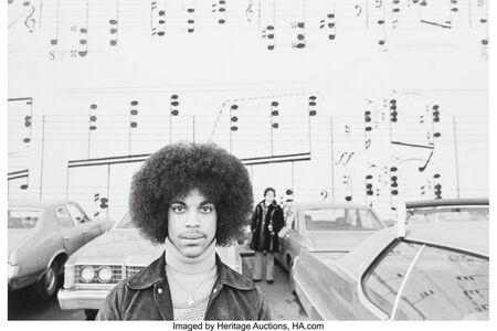 Robert Whitman, 'Prince, Minneapolis, Minnesota', 1977