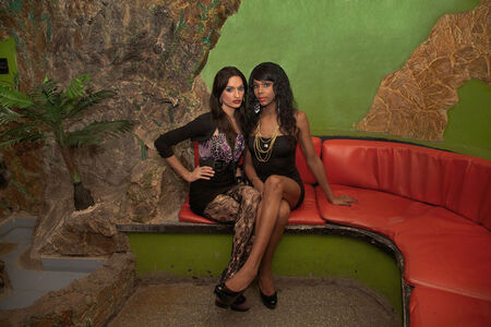 Mariette Pathy Allen, 'Laura and Lady at the Las Vegas Club, Havana', 2012