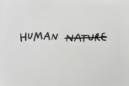 Dan Perjovschi, 'No Plan (Human Nature)', 2019