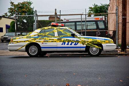 "SpY, '""Caution"" – NYC.', 2008"