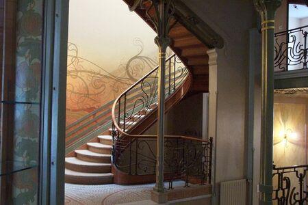 Victor Horta, 'Tassel House', 1892-1893