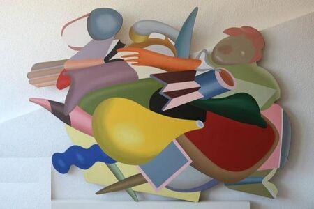 "Michel Tyszblat, 'Oil on Panel ""Jazz Spirit"" by Michel Tyszblat', 2000s"