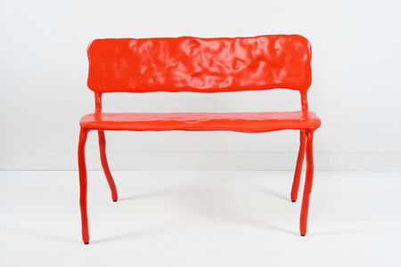 Maarten Baas, 'Clay Bench Red', 2006